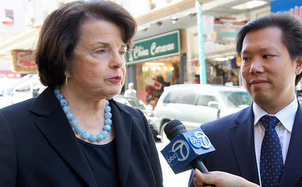 Sen. Feinstein Wants to Strip Independent Journalists' Rights