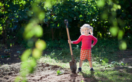 Victory! 4-Year-Old Can Keep Her Vegetable Garden