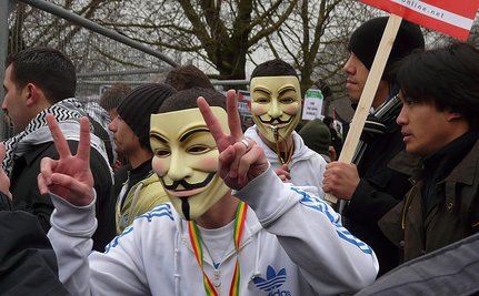 Protesters Who Wear Masks Could Spend 10 Years in Jail