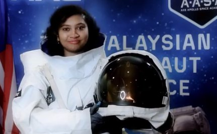 Malaysian Woman Triumphs Over Harassment in Race to Space