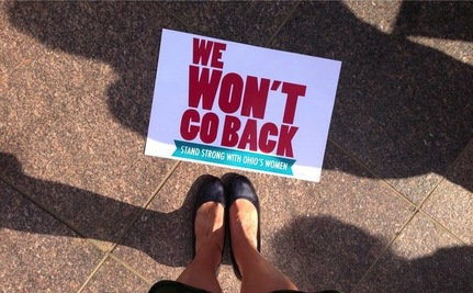 "Longtime Women's Rights Activists Tell Ohio ""We Won't Go Back"""