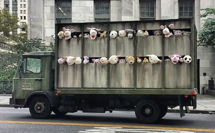 Does Banksy's 'Siren of the Lambs' Help Confront Animal Cruelty?