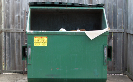 Environmental Professor Will Teach Out of a Dumpster for a Year