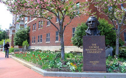 At George Washington University, it's Your Bank Account That Sets You Apart During Admissions