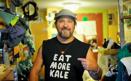 """Eat More Kale"" Guy Fights on Against Corporate Bullying"