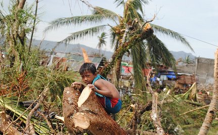How You Can Help Typhoon Survivors, and Why This Shows We've Got to Fight Climate Change