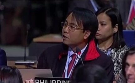 Philippine Delegate Won't Eat Until We Have Meaningful Climate Action