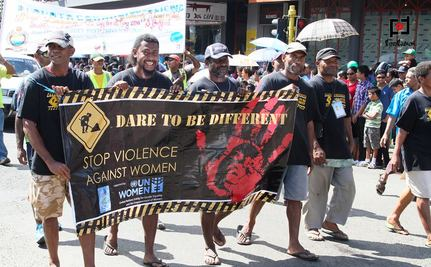 Homeless People Step in to Fight Violence Against Women in Fiji