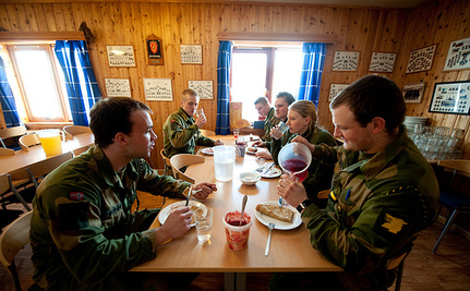 Norway's Army Fights Climate Change, One Meatless Monday At a Time