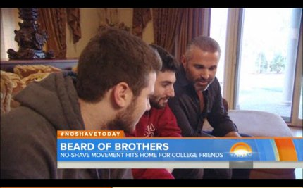 Frat Joins No-Shave November to Honor Sick Brother, Raise Thousands for Research