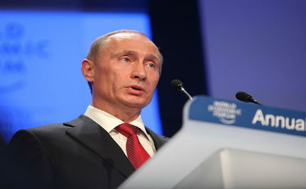 Putin Seems to Think Russia is Welcoming for Gay People