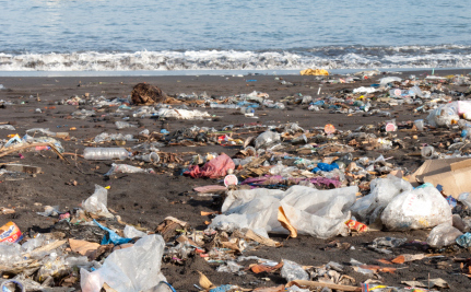 Huge Mounds of Plastic May Turn a Tiny Island Into a Superfund Site