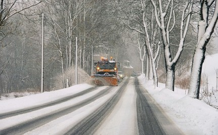 New York Roads Are Covered in Snow and Fracking Waste