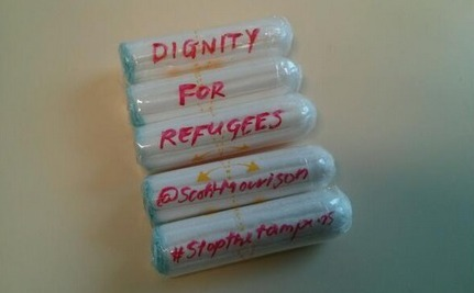 Why Are Women Mailing Tampons to the Australian Immigration Minister?
