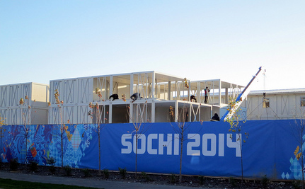 Sochi's Houses are Falling Down, Thanks to the Olympics