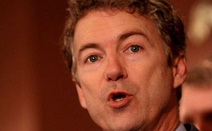 """Rand Paul Says Women """"Won"""" the War on Women, Except Apparently Hillary Clinton"""