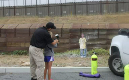 Border Patrol Teaches Kids to Fire at Immigrants