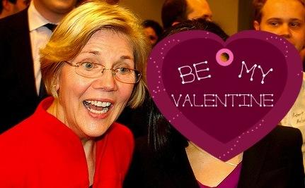 Be My Valentine, Elizabeth Warren (A Love Poem)