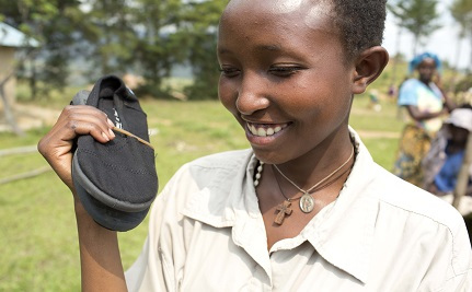 How a Pair of Shoes Can Help a Rwandan Family Achieve Financial Stability