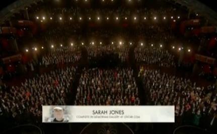 Success! Sarah Elizabeth Jones Honored at the Oscars
