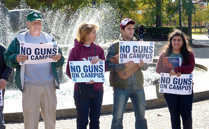 No, Idaho, Letting Students and Professors Have Guns Won't Make Campuses Safer