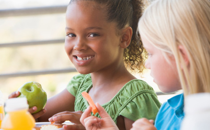 School Kids Are Eating More Fruits and Veggies, But Some People Aren't Thrilled