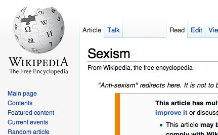 How Women Are Trying to Make Wikipedia Less Sexist