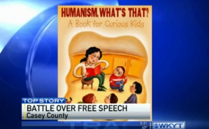 What Happens When a Humanist Group Puts Books in Schools? Parents Overreact, Of Course!
