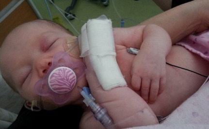 This Baby Has Whooping Cough, And Her Mother Wants More People To Get Their Vaccines