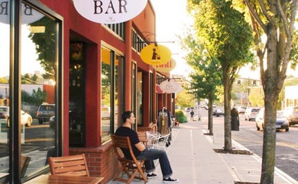 Portland Converting Parking Spaces into Summer Eating Spaces