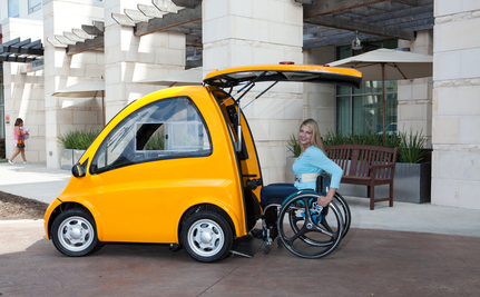 This Electric Car Gets Wheelchair Users Behind The Wheel