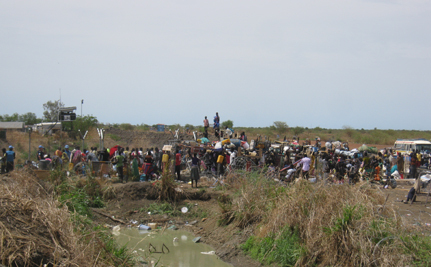 Trying to Bring Water and Hygiene Through Battles in South Sudan