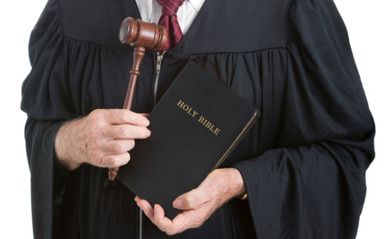 A Chief Justice in Alabama Won't Tolerate Non-Christian Lifestyles