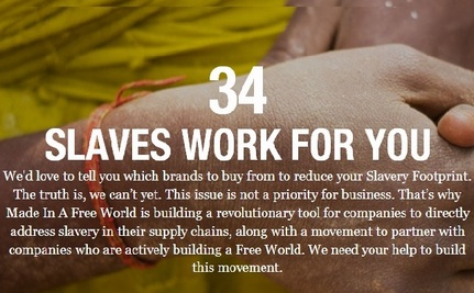 Yes, You Have Slaves Working for You