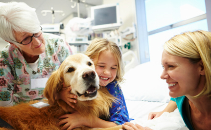 Can Puppy Love Help Kids Fight Cancer?