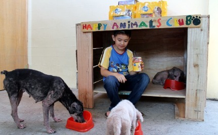 9-Year-Old Opens His Own Animal Shelter