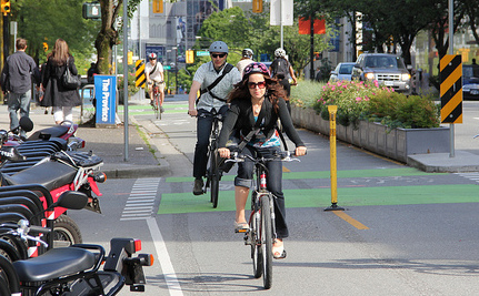 Proof That Protected Bike Lanes Make a Big Difference