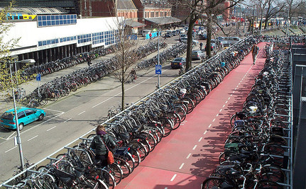 Can Investing in More Bike Parking Save a City?