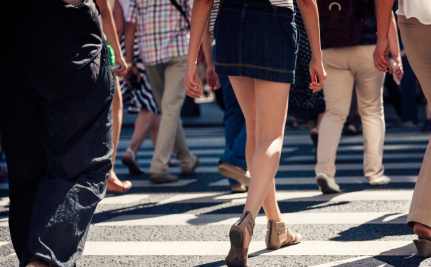 Cities Where People Can Walk Earn More Money