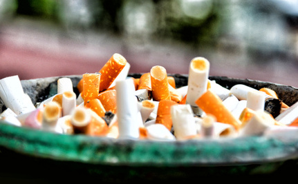 Researchers May Have Found an Awesome Use for Cigarette Butt Litter