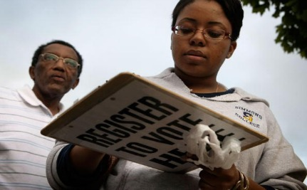 Ferguson Residents are Registering to Vote, Republicans Furious