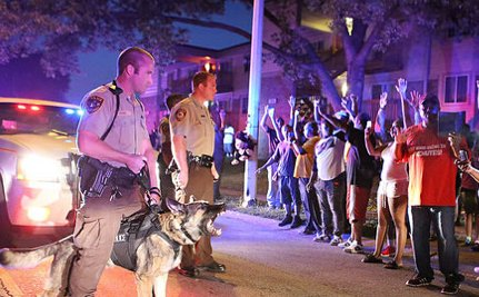Where are the Women Police In Ferguson?