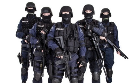 they sent a swat team for what? 5 minor crimes met with police, Human body