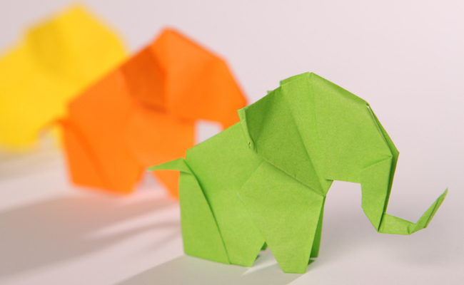 How Origami Is Helping Elephants From Going Extinct Care2 Causes