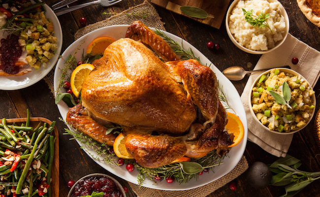 Will you talk politics during Thanksgiving dinner?