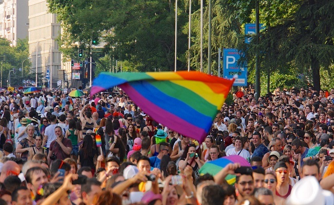 Thousands Rally, March In US For LGBT Rights