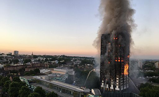 Tragic last phone calls of 23rd floor Grenfell Tower blaze couple