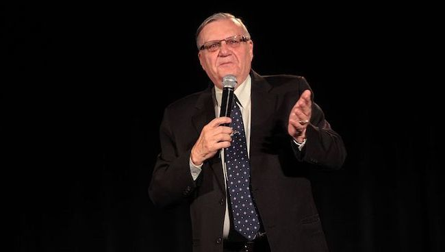 A Joe Arpaio Run in Arizona Could Give Democrats the Senate                                             tweet