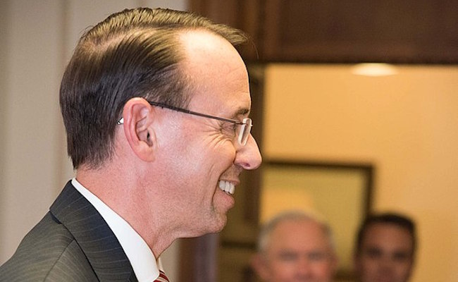 Trump Grilled Rod Rosenstein About Deep State Loyalties