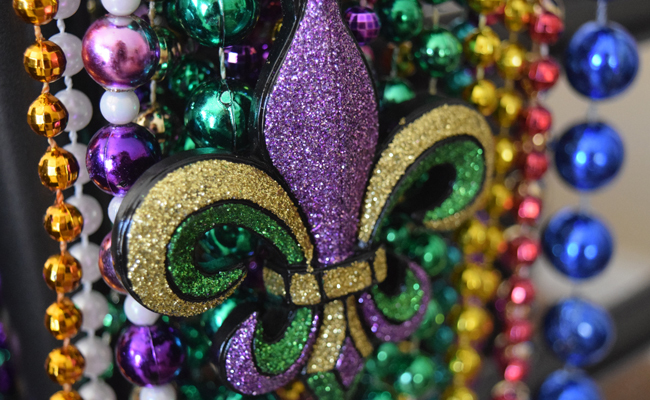 The count: 'gutter buddies' blocking Mardi Gras beads from storm drains